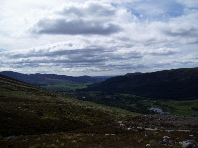 Hill path on Brown Holm, Glen Clova