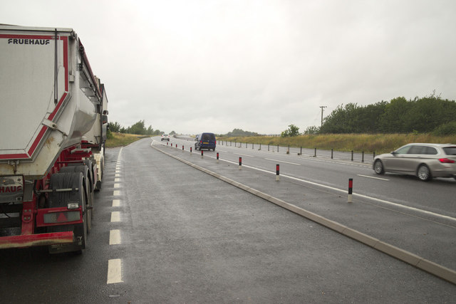 Lay-By on the A421 to Bedford