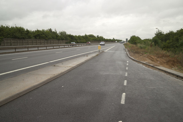 Lay-By on the A421 near Bedford