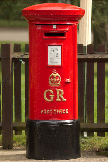 George V Postbox, Whipsnade Zoo Railway Station