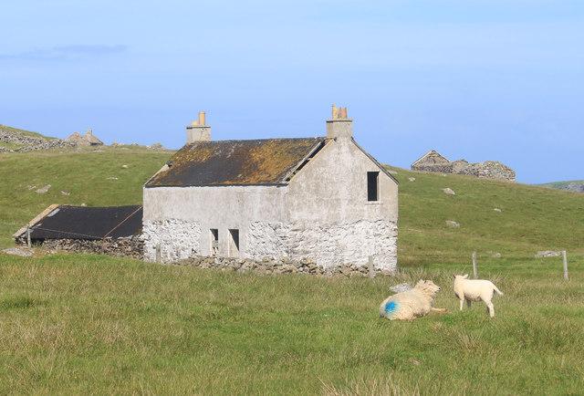 Empty Farmhouse at Treawick