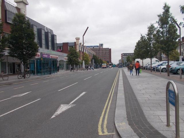 High Street - viewed from Ramsgate