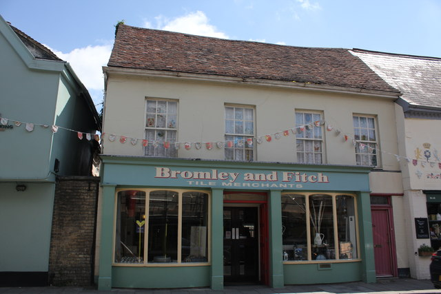 Bromley and Fitch, 50 High Street, Hadleigh