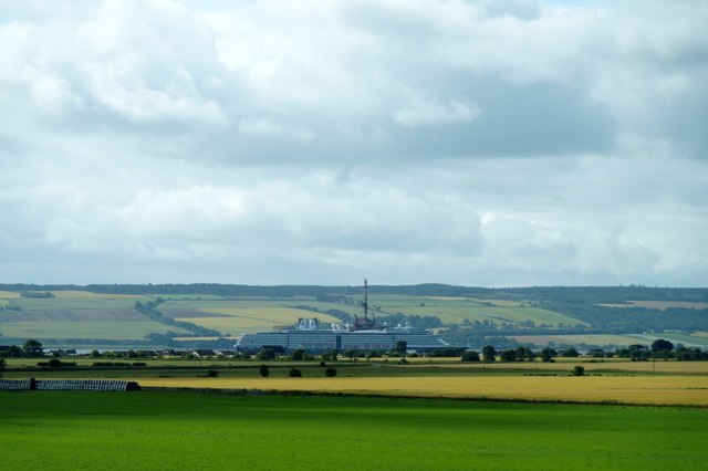 View over fields at Broomhill