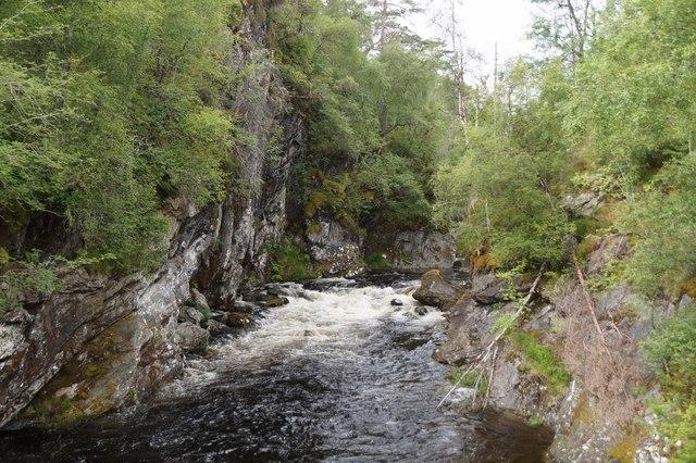 River Affric below Dog Falls