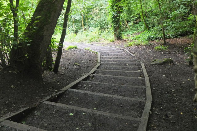 Steps to Craigcrook, Corstorphine Hill
