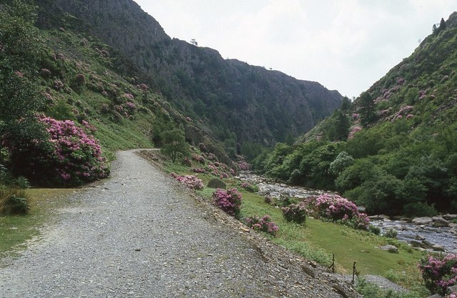 Trackbed of the Welsh Highland Railway