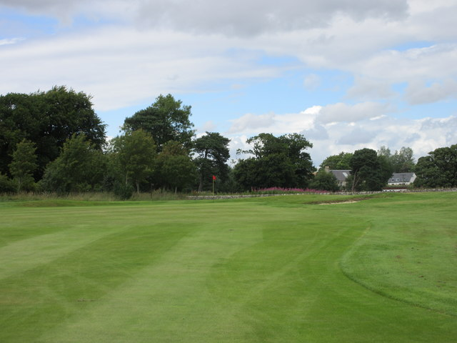 Elmwood Golf Course, 7th hole, Roon the Bend