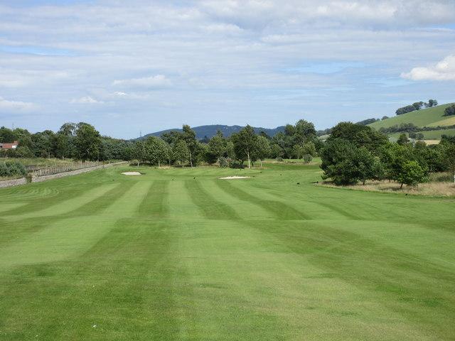 Elmwood Golf Course, 13th hole, Stratheden
