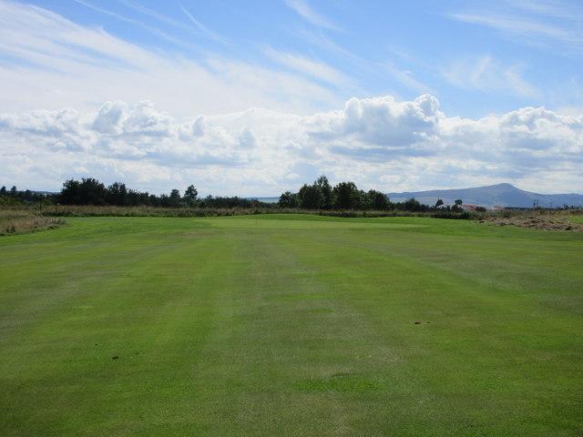 Elmwood Golf Course, 16th hole, O'er the Hill