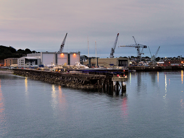 Falmouth Docks Eastern Breakwater