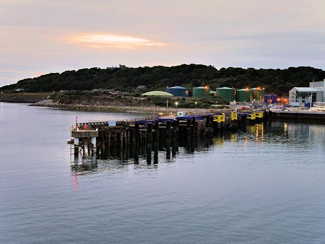 Eastern Breakwater, Falmouth Docks