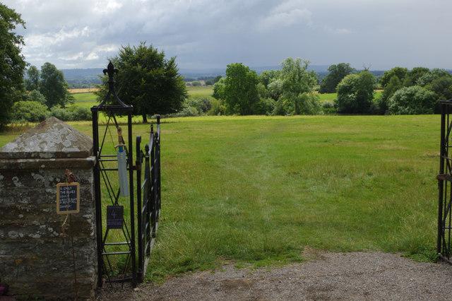 Landscape at Croft Castle