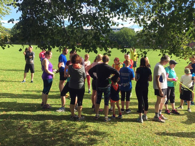 Hillsborough parkrun briefing