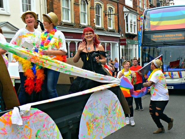 Swindon and Wiltshire Pride 2017, Wood Street, Swindon