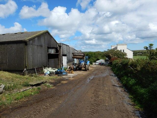 Baldromma Farm Yard