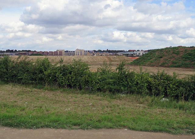 Building at Trumpington Meadows