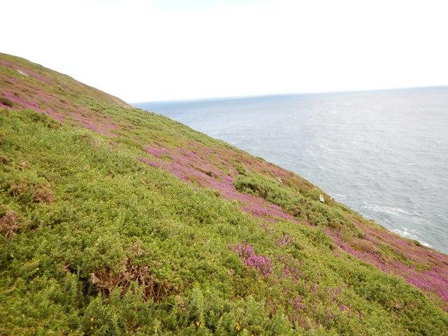 Top of Cliff near Ballavarane
