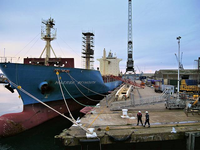 Duchy Wharf, Falmouth Docks