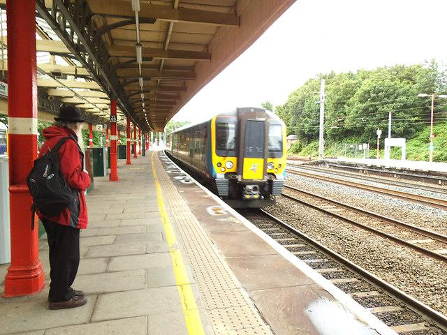 Glasgow train at Lancaster