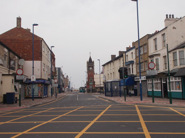 West Dyke Road - viewed from High Street
