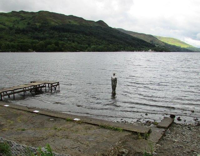 'Silver Man', Loch Earn