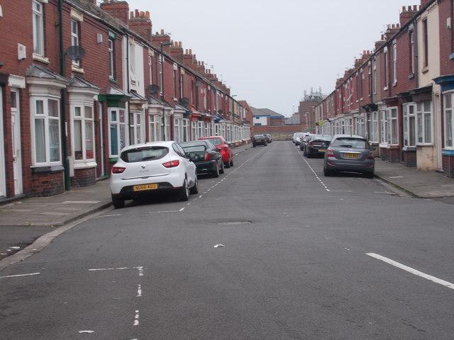 Soppett Street - Thrush Road