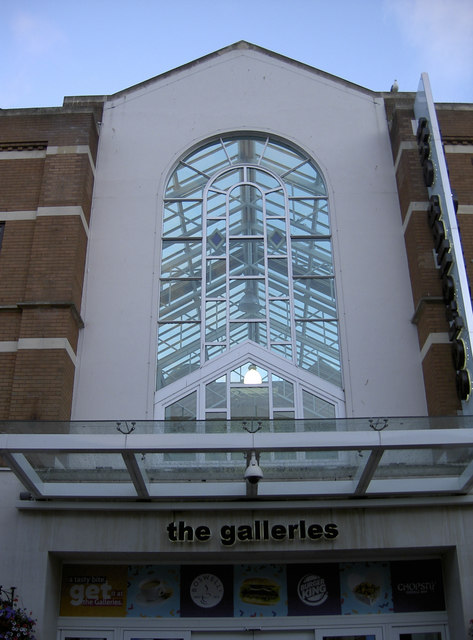 The Galleries in evening light