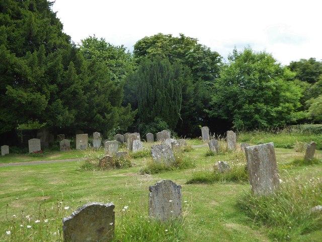St Giles, Dallington: churchyard (b)