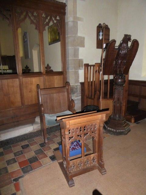 Inside St Giles, Dallington (d)