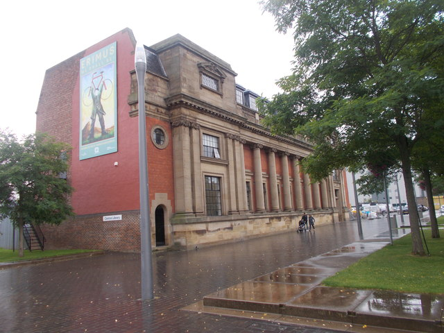 Central Library - off Albert Road