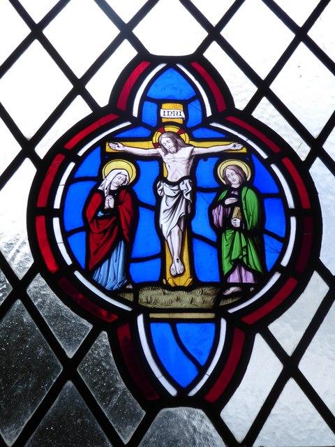 St Giles, Dallington: stained glass window (i)