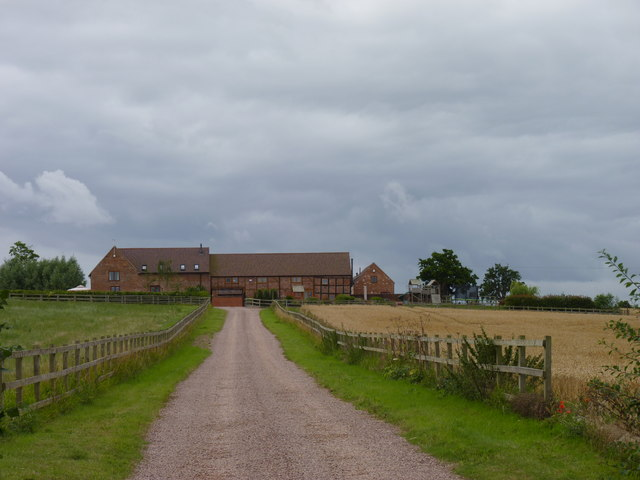 Lane to Huddington Hill Farm