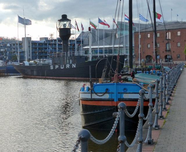 Spurn Lightship at Hull Marina