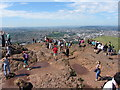 NT2772 : View from the summit of Arthur's Seat : Week 30