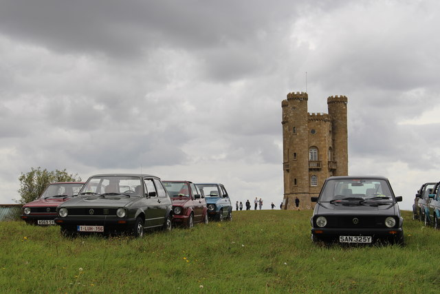 Golf MkI Owners Club Annual Gathering at Broadway Tower