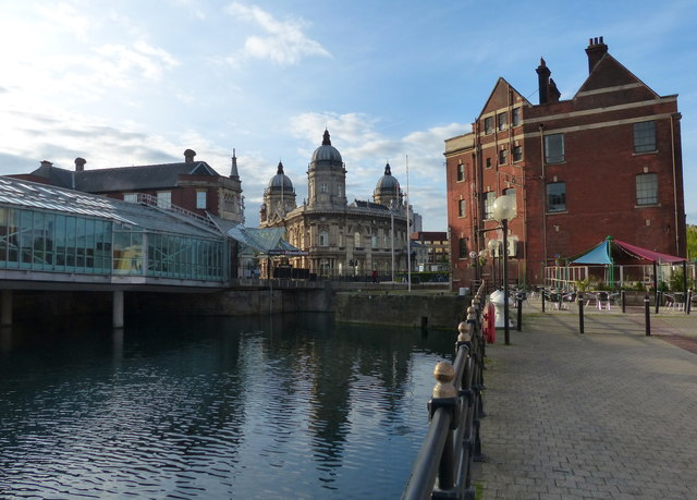Prince's Dock in Kingston upon Hull