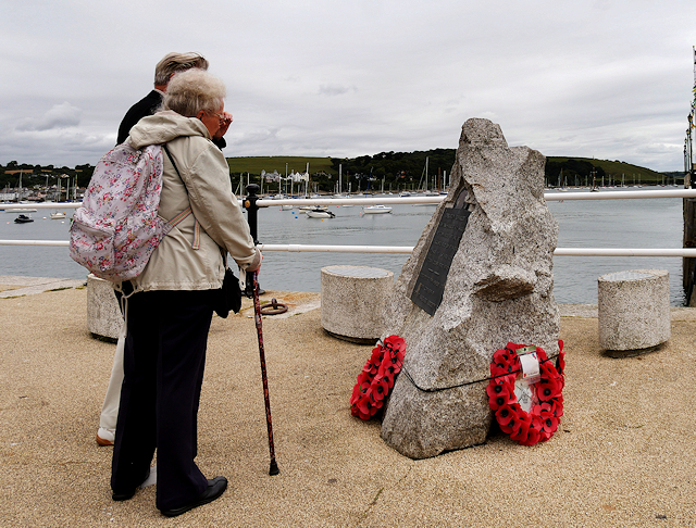 Operation Chariot Memorial, Falmouth