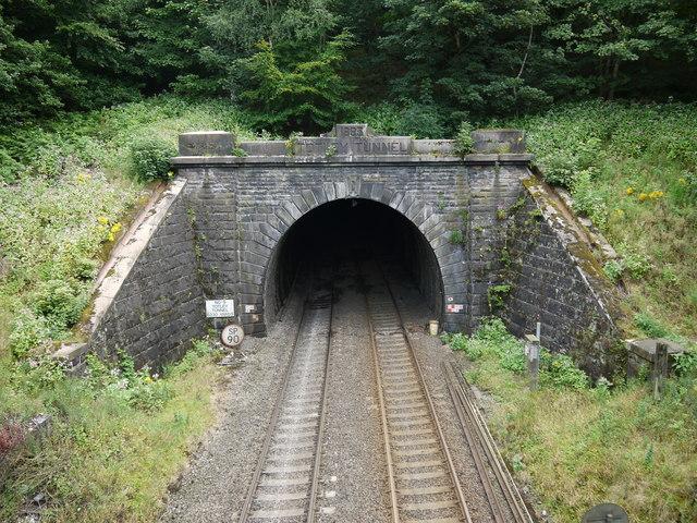 Western entrance to Totley Tunnel, Grindleford Station, Derbyshire
