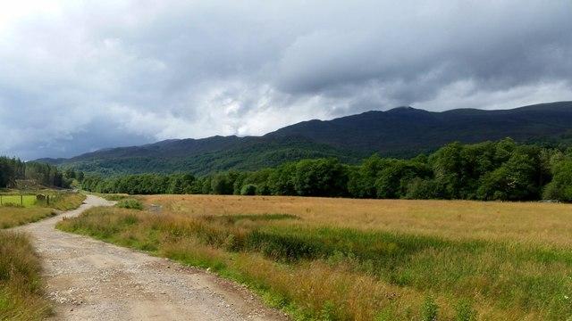 Track on the south side of Glenstrathfarrar