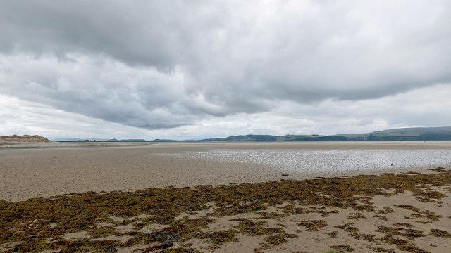 Dynamic changed coastline near Whiteness Head