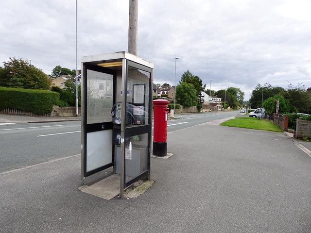 Threatened phone box, Newlay
