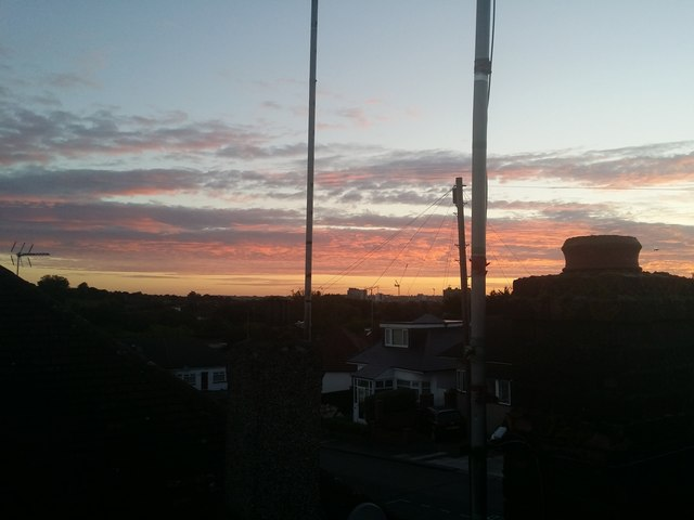Sunrise over Kingsbury