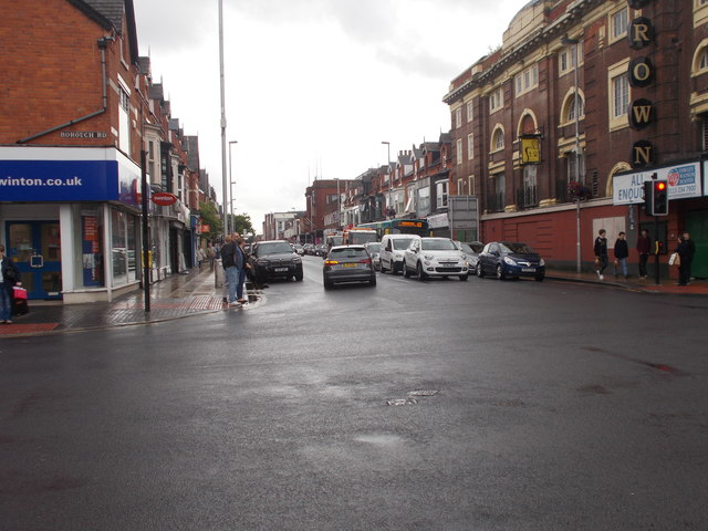 Linthorpe Road - viewed from Borough Road