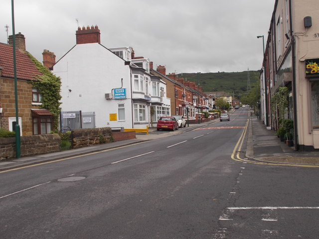 Jubilee Road - viewed from Station Road