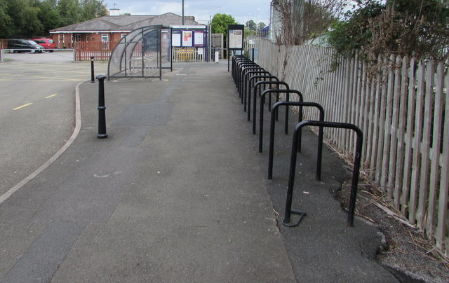 Ashchurch railway station cycle racks
