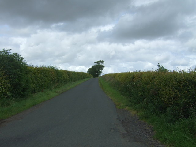 Minor road towards Garvald