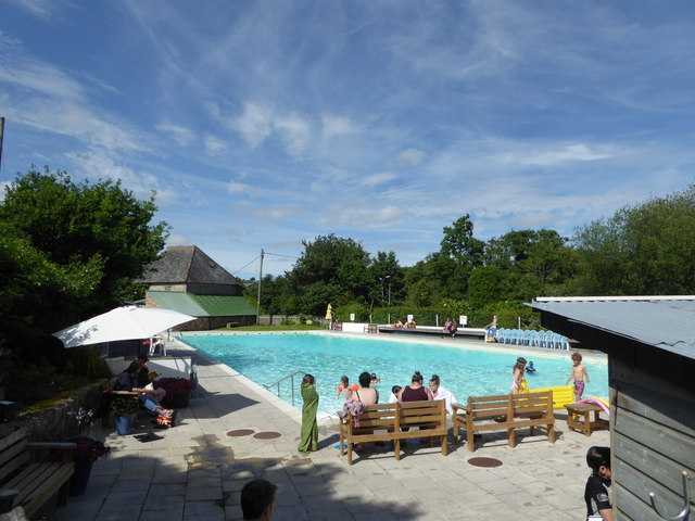 Open air swimming pool Chagford