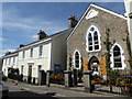 SX6987 : Mill Street and former chapel, Chagford by Chris Allen