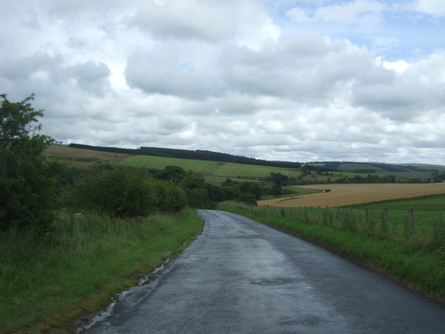 Heading south east from Cranshaws